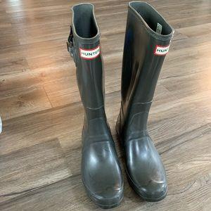 Hunter Boots Tall sz 10